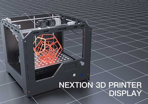 3D printer nextion HMI display project